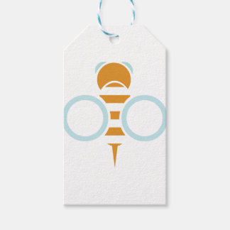 Bee Symbol Pack Of Gift Tags