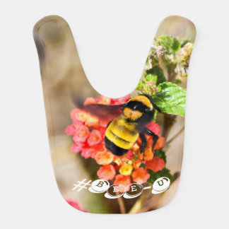 #Bee-U baby bib