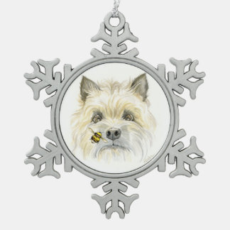 Bee-utiful Cairn Snowflake ornament