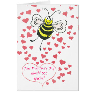 BEE - Valentine's Day - Card