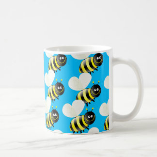 Bee Wallpaper Coffee Mug