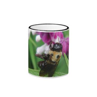 Bee with Velvet Flowers Mug #2