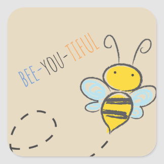 """Bee-You-Tiful"" Sticker"
