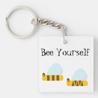 Bee Yourself Key Chain