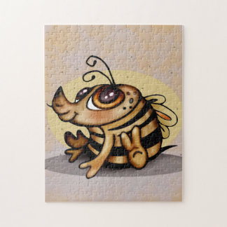 BEEBEE ALIEN CARTOON PUZZLE 11 X 14