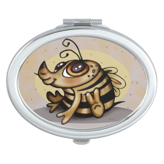 BEEBEE CUTE CARTOON compact mirror OVAL