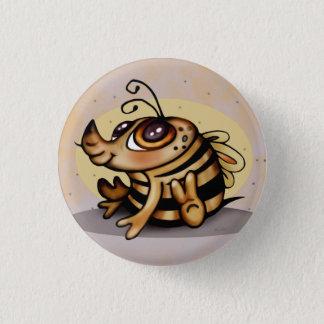 BEEBEE CUTE CARTOON Small, 1¼ Inch 1 Inch Round Button