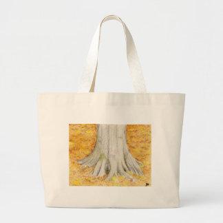 Beech Feet Large Tote Bag