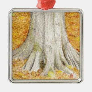 Beech Feet Metal Ornament