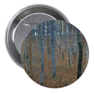 Beech Grove I by Gustav Klimt Buttons