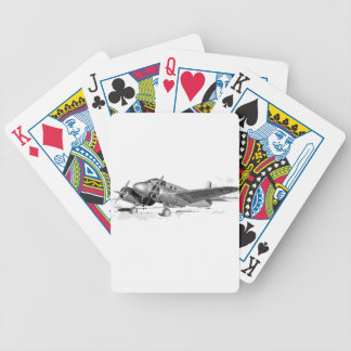 Beechcraft_AT-10_Wichita_on_the_ground_c1942 Bicycle Playing Cards