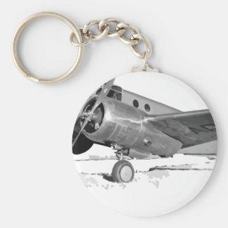 Beechcraft_AT-10_Wichita_on_the_ground_c1942 Keychain