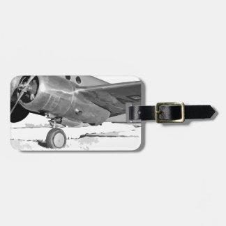 Beechcraft_AT-10_Wichita_on_the_ground_c1942 Luggage Tag