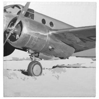 Beechcraft_AT-10_Wichita_on_the_ground_c1942 Napkin