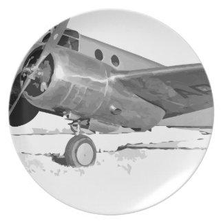 Beechcraft_AT-10_Wichita_on_the_ground_c1942 Plate