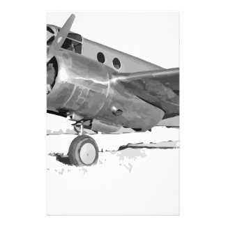 Beechcraft_AT-10_Wichita_on_the_ground_c1942 Stationery