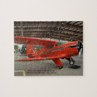 "Beechcraft Model 17 ""Staggerwing"" - Jigsaw Puzzle"