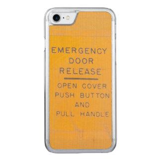 Beechcraft Model 18 Emergency Door Release Design Carved iPhone 8/7 Case