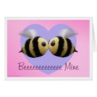 Beeeeeeeeeeeee Mine Valentine Card