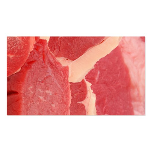 Beef Business Card Template