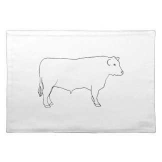 Beef Cattle Bull Placemat