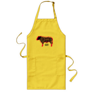 Beef Eater's Chart Long Apron
