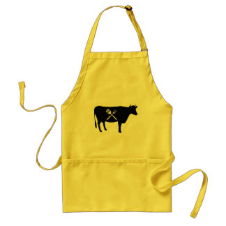 Beef King of Meats Food BBQ Standard Apron