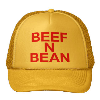 BEEF N BEAN fun slogan trucker hat
