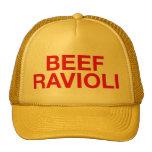 BEEF RAVIOLI fun slogan trucker hat