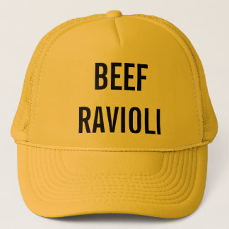 Beef Ravioli Trucker Hat