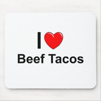 Beef Tacos Mouse Pad