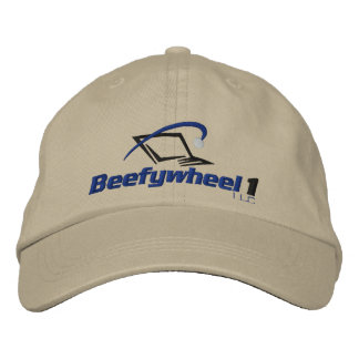 Beefywheel1 Adjustable Hat Embroidered Hats