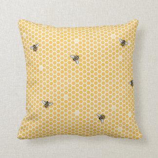 Beehive Home Decor Throw Pillow