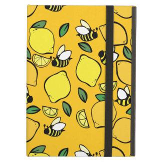 Beehive Lemonade pattern Cover For iPad Air