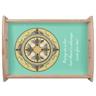 beehive serving tray