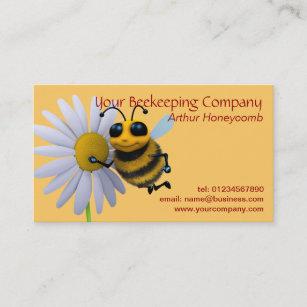 Beekeeper Bee Business Card