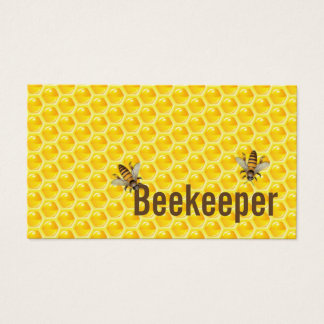 Beekeeper Honey Bees Professional Business Card