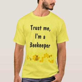 Beekeeper Honeycomb Art Custom Shirt