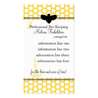 Beekeepers Card Business Card