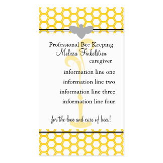 Beekeepers Card Business Cards