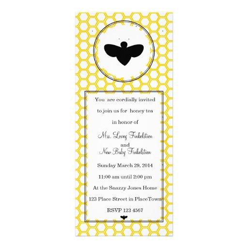 Beekeeper's Card Invitation