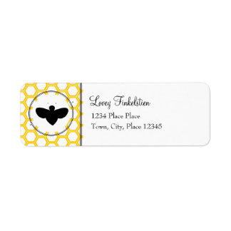 Beekeeper's Sticker Return Address Label