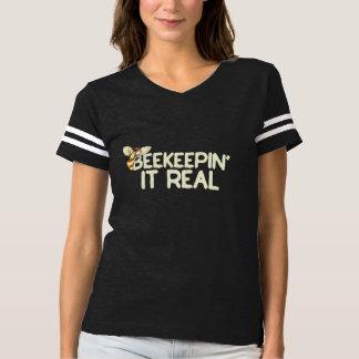 beekeepin it real t-shirt