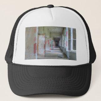 Beelitz Heilstaetten doors, lost places Trucker Hat