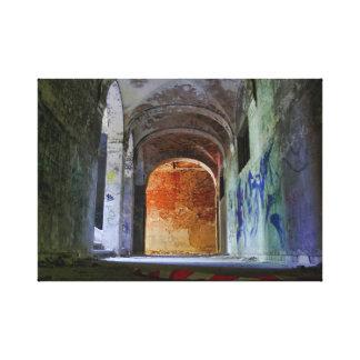 Beelitz hospital ruin 03.0 canvas print