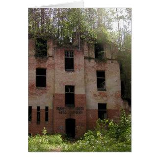 Beelitz hospital ruin, Alpenhaus 2.2 Card