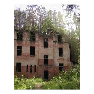 Beelitz hospital ruin, Alpenhaus Letterhead