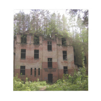 Beelitz hospital ruin, Alpenhaus Notepad