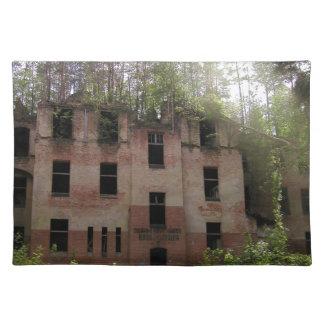 Beelitz hospital ruin, Alpenhaus Placemat