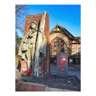 Beelitz, Russian Memorial with heart 2.0 Photo Print